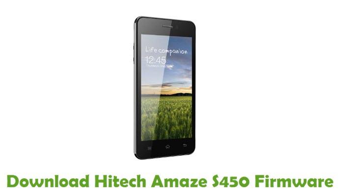 Download Hitech Amaze S450 Firmware