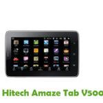 Hitech Amaze Tab V500 Firmware