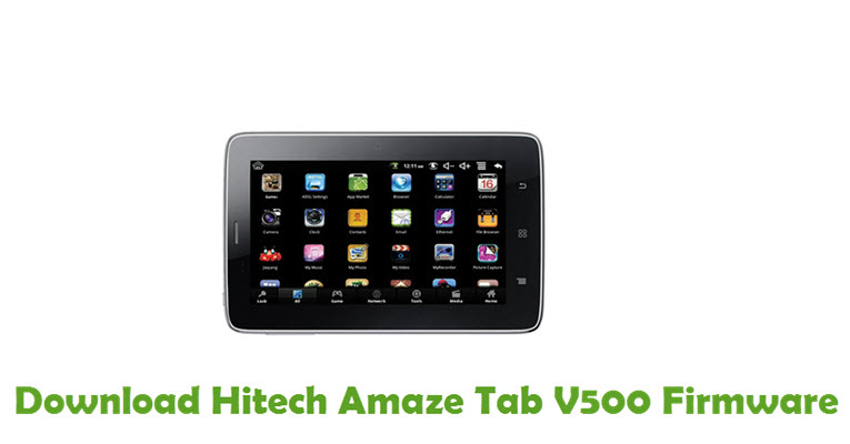 Download Hitech Amaze Tab V500 Firmware