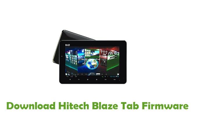 Download Hitech Blaze Tab Firmware