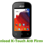 K-Touch A10 Firmware