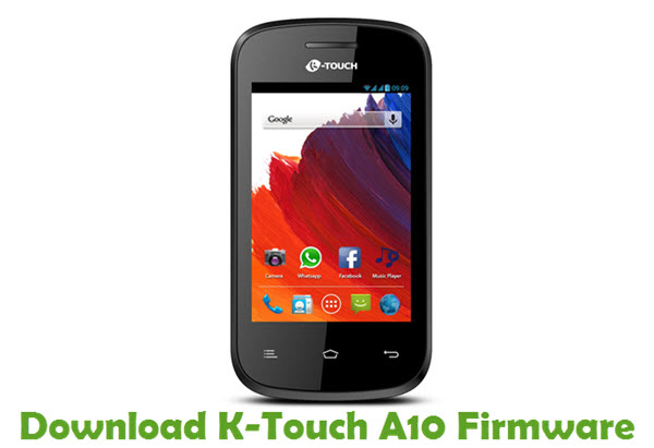 Download K-Touch A10 Firmware
