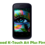 K-Touch A11 Plus Firmware
