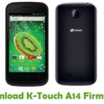 K-Touch A14 Firmware