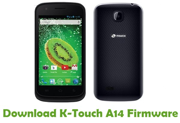 Download K-Touch A14 Firmware