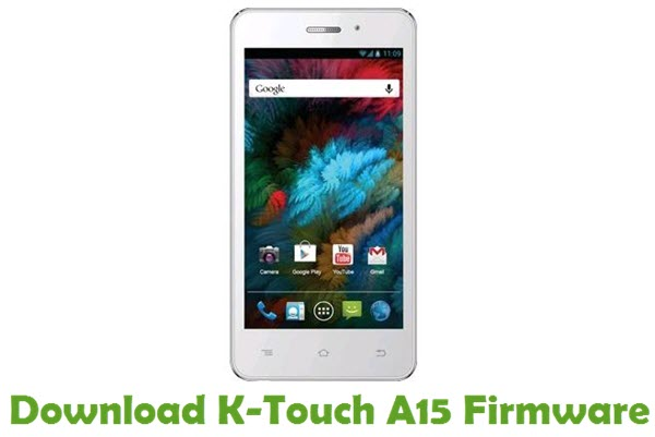 Download K-Touch A15 Firmware