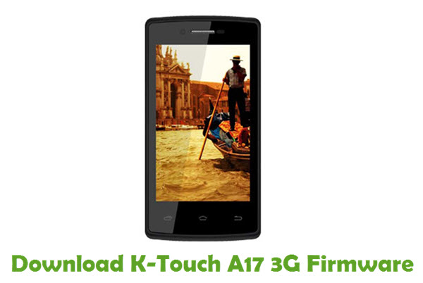 Download K-Touch A17 3G Firmware