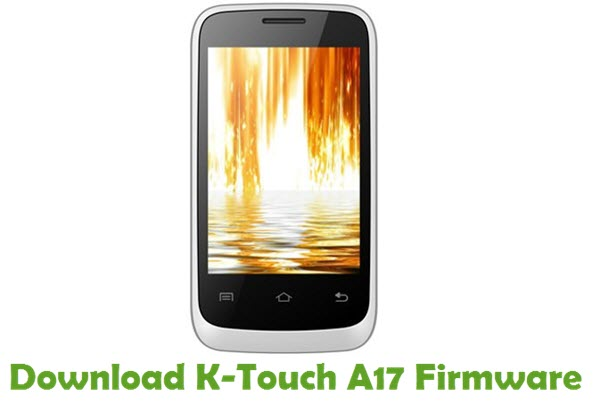 Download K-Touch A17 Firmware