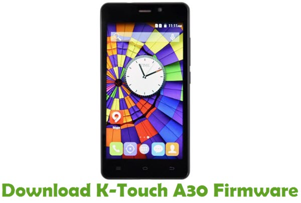 Download K-Touch A30 Firmware