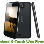 K-Touch W68 Firmware