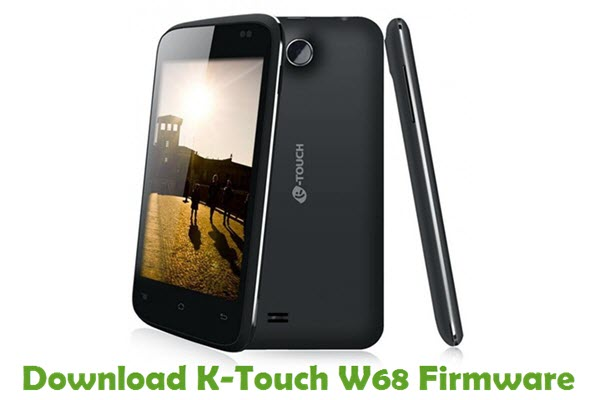 Download K-Touch W68 Firmware