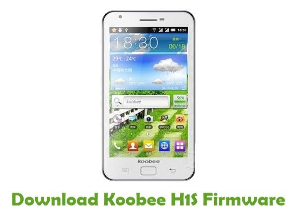 Download Koobee H1S Stock ROM