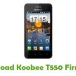 Koobee T550 Firmware
