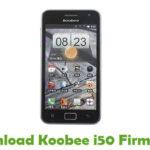 Koobee i50 Firmware