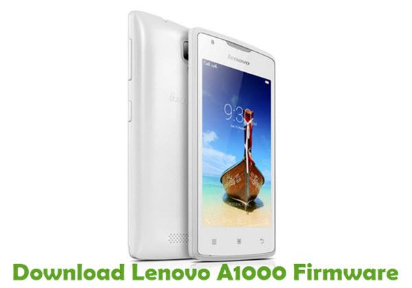 Download Lenovo A1000 Stock ROM