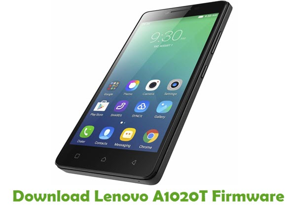 Download Lenovo A1020T Stock ROM