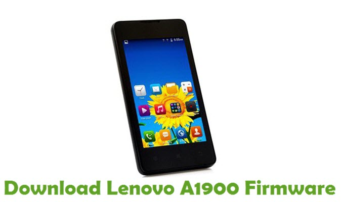 Download Lenovo A1900 Stock ROM