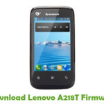Lenovo A218T Firmware