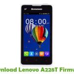 Lenovo A228T Firmware
