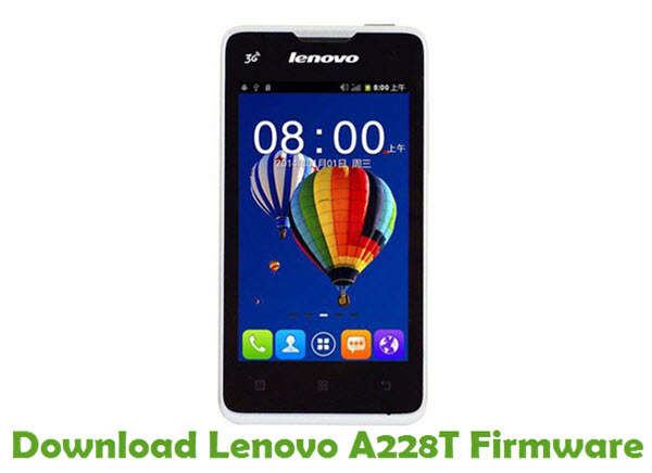 Download Lenovo A228T Stock ROM