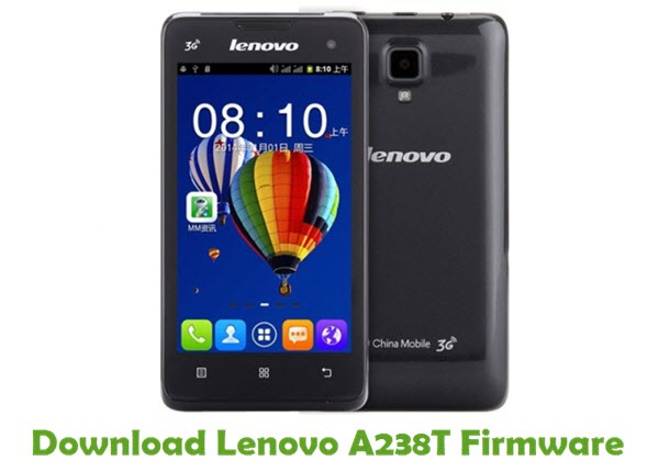 Download Lenovo A238T Stock ROM