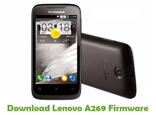 Download Lenovo A269 Stock ROM