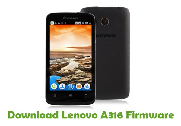Download Lenovo A316 Stock ROM