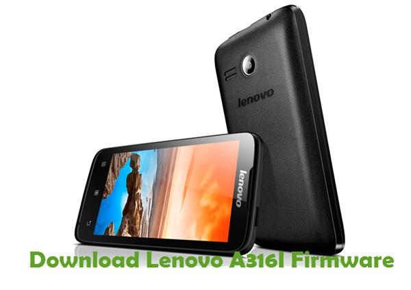Download Lenovo A316I Stock ROM