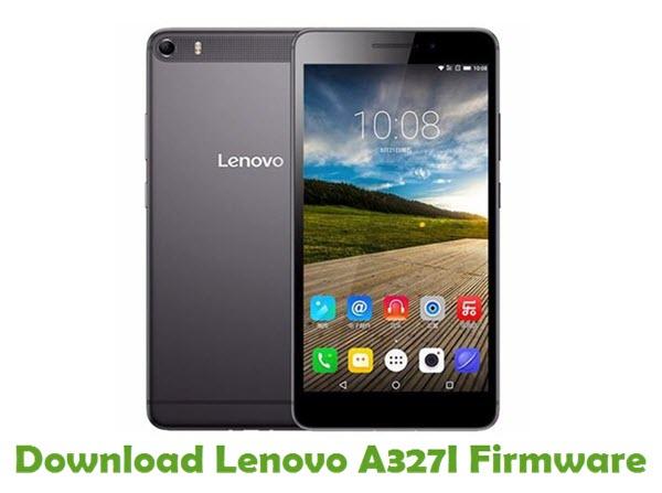 Download Lenovo A327I Stock ROM