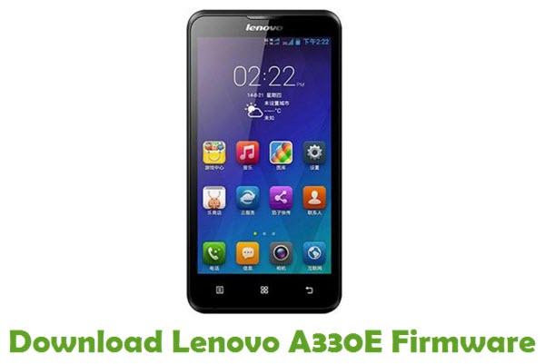 Download Lenovo A330E Stock ROM