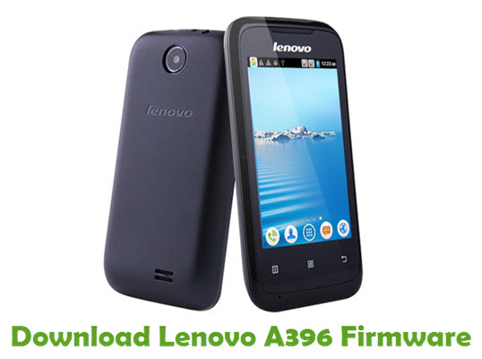 Download Lenovo A396 Firmware