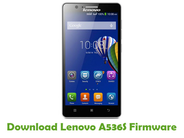 Download Lenovo A536S Stock ROM