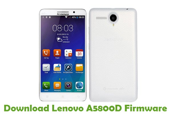 Download Lenovo A5800D Stock ROM