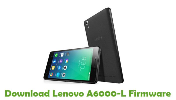 Download Lenovo A6000-L Stock ROM