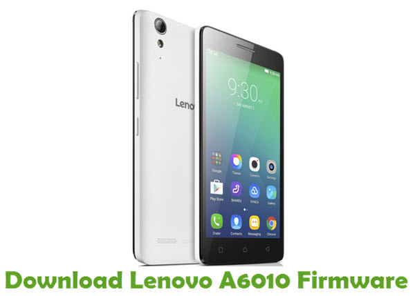 Download Lenovo A6010 Stock ROM