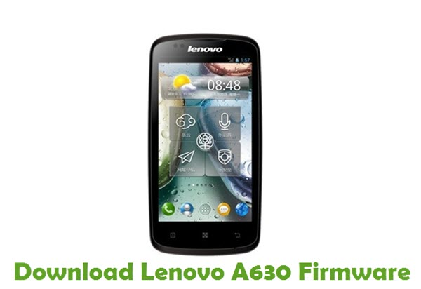 Download Lenovo A630 Stock ROM