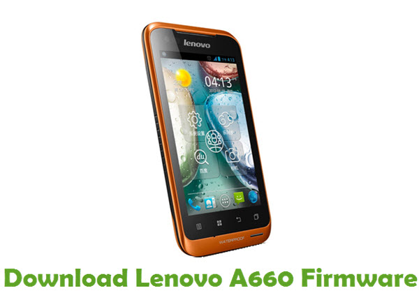 Download Lenovo A660 Stock ROM