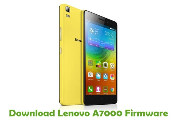 Download Lenovo A7000 Stock ROM