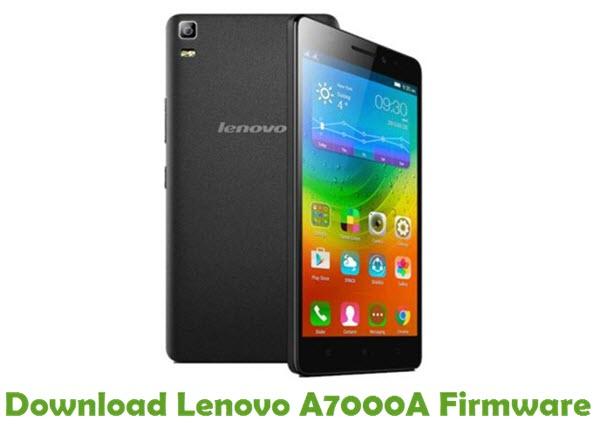 Download Lenovo A7000A Firmware