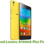 Lenovo A7000A Plus Firmware