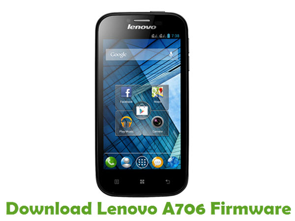 Download Lenovo A706 Stock ROM