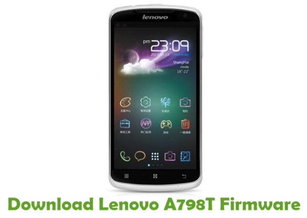 Download Lenovo A798T Stock ROM
