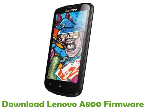 Download Lenovo A800 Stock ROM