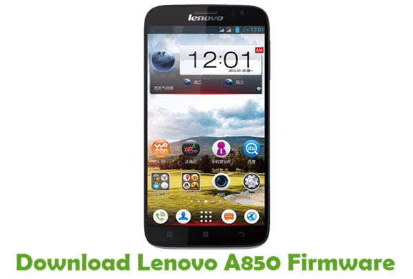 Download Lenovo A850 Stock ROM