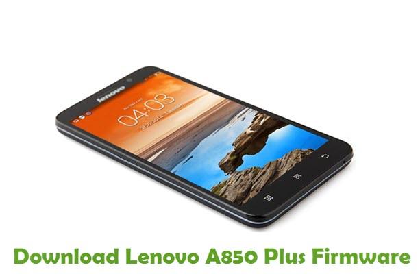 Download Lenovo A850 Plus Stock ROM