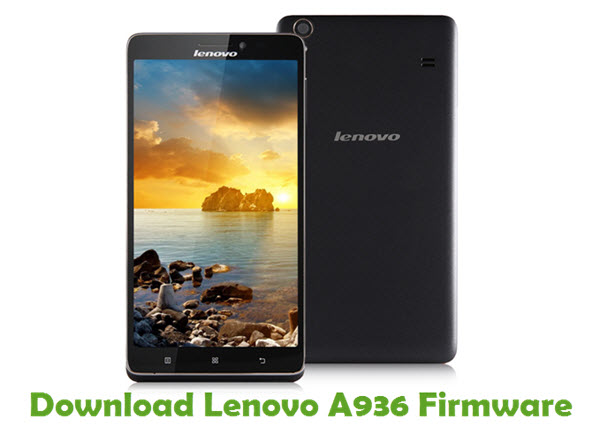 Download Lenovo A936 Stock ROM