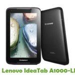 Lenovo IdeaTab A1000-LF Firmware