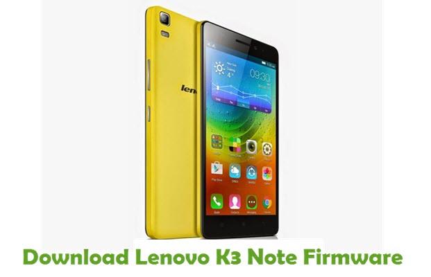 Download Lenovo K3 Note Stock ROM