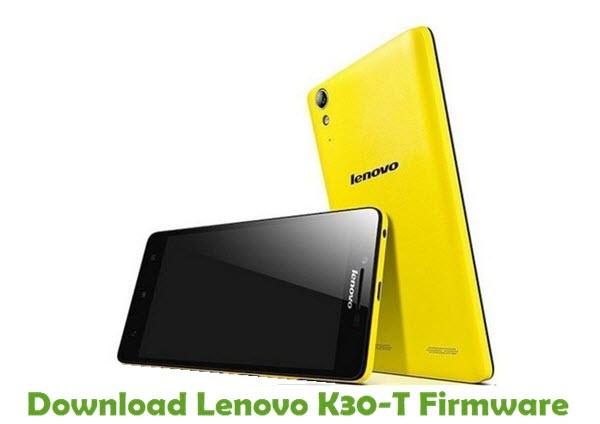 Firmware lenovo k30