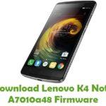 Lenovo K4 Note A7010a48 Firmware